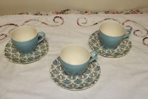 1950's tea cups