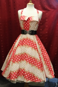 Pretty red polka dots