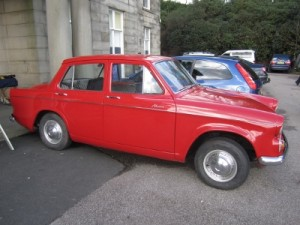 Hillman at Haigh Hall