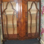 Double door vintage display cabinet, £60